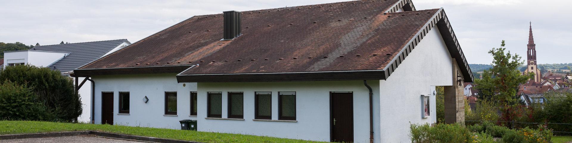 Gemeindehaus mieten / Quelle: Felix Junker